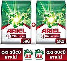 Ariel Oxi 2x5 kg (10 kg) Toz Çamaşır Deterjanı