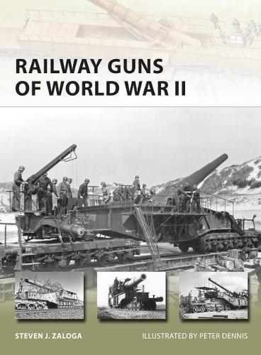 Railway Guns of World War II (New Vanguard) by Steven J. Zaloga (2016-02-16)