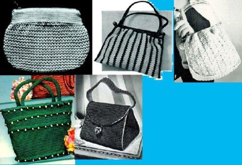 Vamos a Crochet bolsos ~ 5 bolsa de mano más patrones para ...