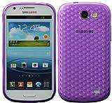 Luxburg Housse Etui Coque Samsung Galaxy Express silicone case TPU Violet améthyste