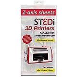 St3Di 946425 - Hojas de impresora 3D, 15 hojas, color multicolor