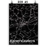 Mr. & Mrs. Panda Poster DIN A5 Stadt Kaiserslautern Stadt