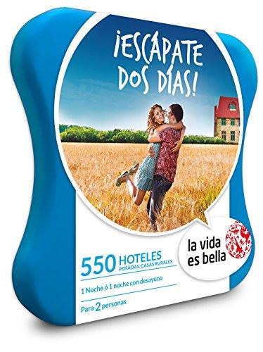 Smartbox LA VIDA ES BELLA - Caja Regalo - ¡ESCÁPATE DOS DÍAS! - 550 hoteles, posadas, casas rurales y mucho más
