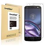 Motorola Moto Z Protection écran, VGUARD Film Protection d'écran en Verre Trempé Glass Screen Protector Vitre Tempered pour Motorola Moto Z - Dureté 9H, Ultra-mince 0.20 mm, 2.5D Bords Arrondis- Anti-rayure, Anti-traces de doigts,Haute-réponse, Haute tr