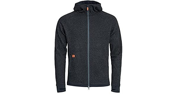 eb0c4f04 Röjk Eskimo Hoodie MS - Wool Jacket - Blackberry, M823-08-M, Blackberry, M:  Amazon.co.uk: Sports & Outdoors