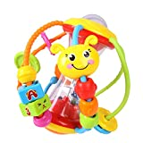#10: Baby Bucket Toys Ball Baby Rattles Educational Toys for Babies Grasping Ball Puzzle Multifunction Bell Ball 0-18 Months