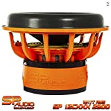 SP AUDIO SP12CXXX SUBWOOFER 30CM 2800 WATT RMS DUAL 2 OHM