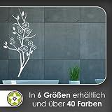 Kirschbaum - Blüten - Äste Wandtattoo in 6 Größen - Wandaufkleber Wall Sticker
