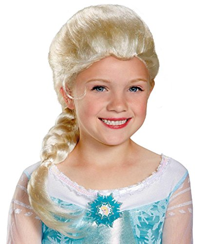 Disguise Disney Frozen Elsa's Traje Peluca