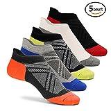 Cassiecy 5 Paar Sportsocken Damen kurze Bunt atmungsaktiv Baumwolle Sneaker Socken, Größen: 35-39, 39-44(39/44, Classic Colors)