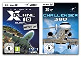 BUNDLE -- X-Plane 10 - Global 32- & 64Bit Version - & - X Plane 10 Add-On - Bombardier Challenger 300
