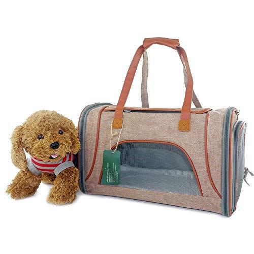 Haustier Tasche LXFGB Pet Bag Folding Pet Carrier Hand Tragbare Pet Bag Home Outdoor Für kleine Hunde, Katzen und Welpen LXFGB (Color : B) -