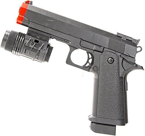 Nick and Ben Pistole Soft-Air Spielzeug-Pistole Waffe Airsoft Feder-Druck Killer (Feder Airsoft-gewehr-pistole)