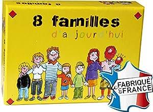 """Jeux de 44 cartes : """"8 Familles d'aujourd'hui"""""""