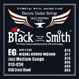 Black Smith 13-56 Jeu de cordes pour Guitare électrique