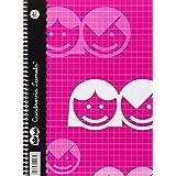 Lamela 07004 - Cuaderno, cubierta básica, formato folio DIN A5, 40 hojas