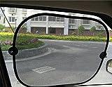 jysport Auto Fenster Sonnenschirme–Universal Baby Auto Sonnenschutz Bildschirme Outback Shades zu schützen Ihr Baby–sperrt UV-Strahlen–Für Full Size Cars, Net yarn