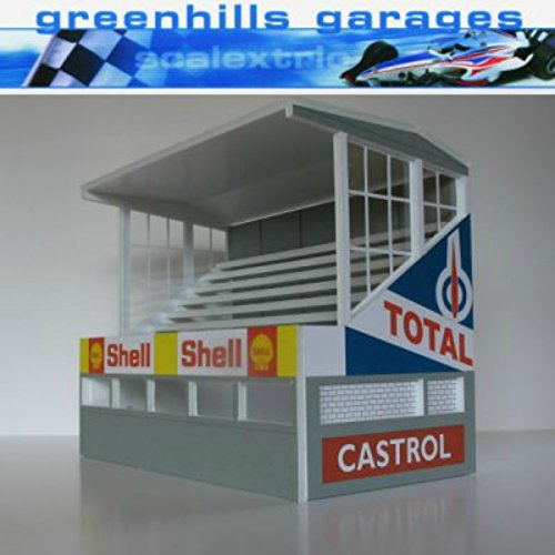 Greenhills Scalextric Slot Car Buildings Reims Starter