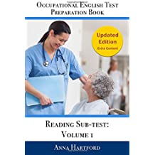 Occupational English Test Preparation Book: Reading Sub-test: Volume 1