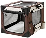 Karlie Flamingo Smart top de luxe Travel box per cani, 76 x 51 x 48 cm, colore: Beige/Marrone