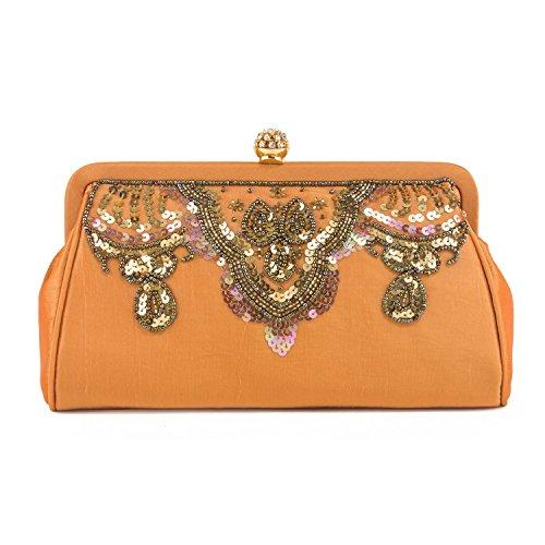 Farfalla 90383, Pochette donna Oro (oro)