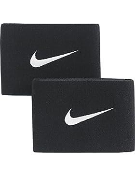 Nike Nk Guard Stay-Ii Bandas Elásticas, Hombre, Negro/Blanco, Única