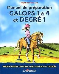 Galops 1 à 4 et degré 1