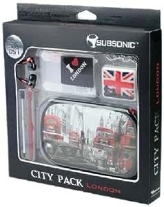 Pack de 10 accessoires pour nintendo 3DS/Dsi - Citypack (NewYork, Tokyo, London)