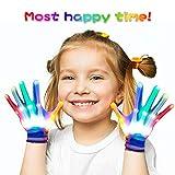 Regalos Cumpleaños Niños 3-12 años, DMbaby Guantes LEDS Colores - Regalos Cumpleaños Niñas G09