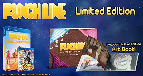 Punch Line - PS Vita Limited Edition (PlayStation Vita) [Importación inglesa]