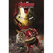 Grupo Erik Editores   Poster Marvel Avengers Age Of Ultron Hulkbuster