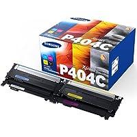 Samsung CLT-P404C Multipack Toner, schwarz/cyan/magenta/gelb
