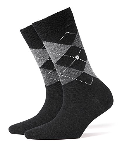 Burlington Damen Socken Marylebone, Gr. 36/41,schwarz (black 3000)