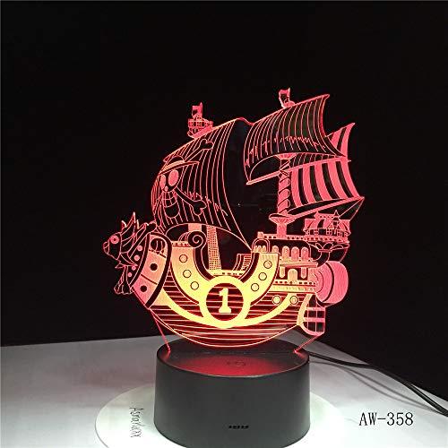 La luce notturna 7 colori possono cambiare l'atmosfera della lampada da tavolo Lampada da comodino USB per la decorazione del comodino della camera da letto Lampade per dormire 7 Baby Touch Switch