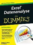 Excel Datenanalyse für Dummies