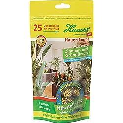 Hauert HBG Dünger 109758 Hauertkugel für Zimmer- und Grünpflanzen 25-Stück