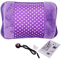 Paciffico Elektrische Wärmflasche, Bett- und Handwärmer, wiederaufladbar mit flauschigem, kuscheligem Bezug preisvergleich bei billige-tabletten.eu