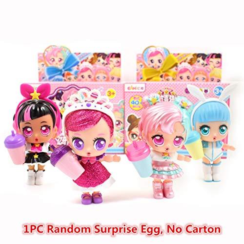 aschungspuppe Überraschungsball Spielzeug Puppe Zubehör Kinder Spielzeug beliebtes Spielzeug Mädchen Gastgeschenke Kinder Spielzeug Geburtstag Geschenke a ()