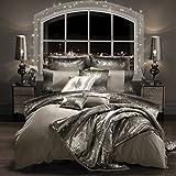 Kylie Minogue Mila cama de lujo, Praline, Square Pillowcase (1)