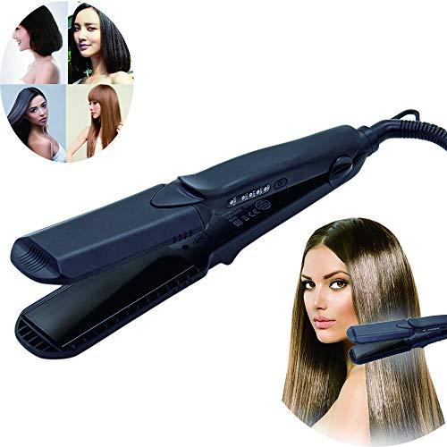 ANCHENYU 4 in 1 Haarglätter Kreppeisen Keramik Glätteisen und Welleisen Fuer die Haare Temperaturregelung Damen austauschbare Platten Haarglätter Lockenwickler Mais Styling Werkzeug