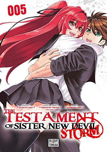 The Testament of Sister New Devil Storm Edition simple Tome 5