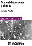 Manuel d'économie politique de Vilfredo Pareto: Les Fiches de lecture d'Universalis