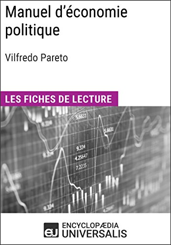Manuel d'conomie politique de Vilfredo Pareto: Les Fiches de lecture d'Universalis
