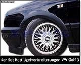 4er Set Kotflügelverbreiterung Radlaufleisten Kotflügel Golf 3 Kunststoff