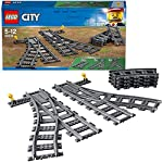 LEGO City Trains Scambi Ferroviari 6 Pezzi, Set di Accessori Aggiuntivi, 60238  LEGO