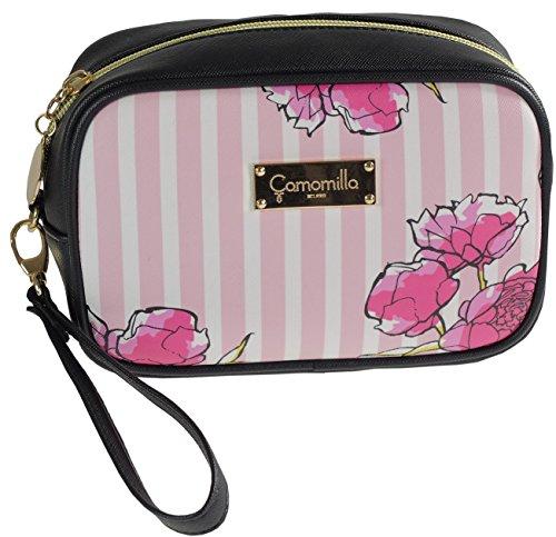 34098737809ee Camomilla Milano-Pochette c manico M stripe flower rosa