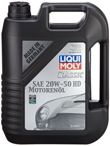 Liqui Moly Classic Motor Oil Sae 20w 50 Hd 5l At Shop Ireland