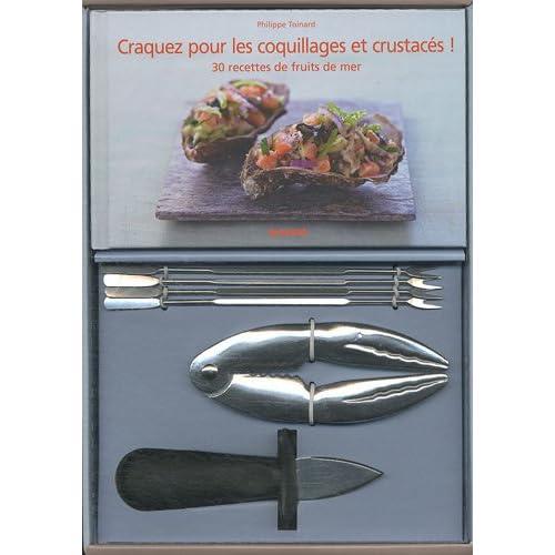Coffret coquillages et crustacés