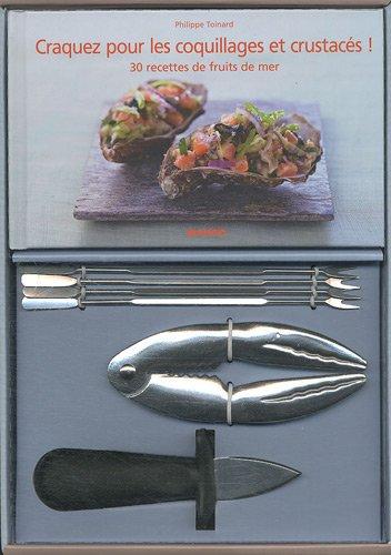 Coffret coquillages et crustacés par Philippe Toinard