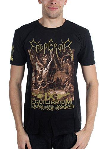 Emperor-IX Equilibrium-Maglietta da uomo nero Medium